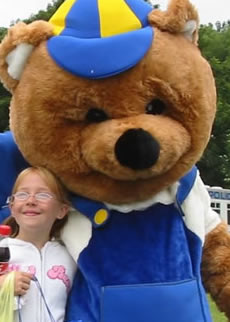 Photo of Bertie the Bear @ DWA Housing Consultants